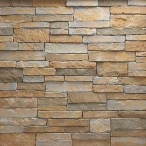 Stacked Stone Cascade Corners 10 lin. ft. Handy Pack Manufactured Stone