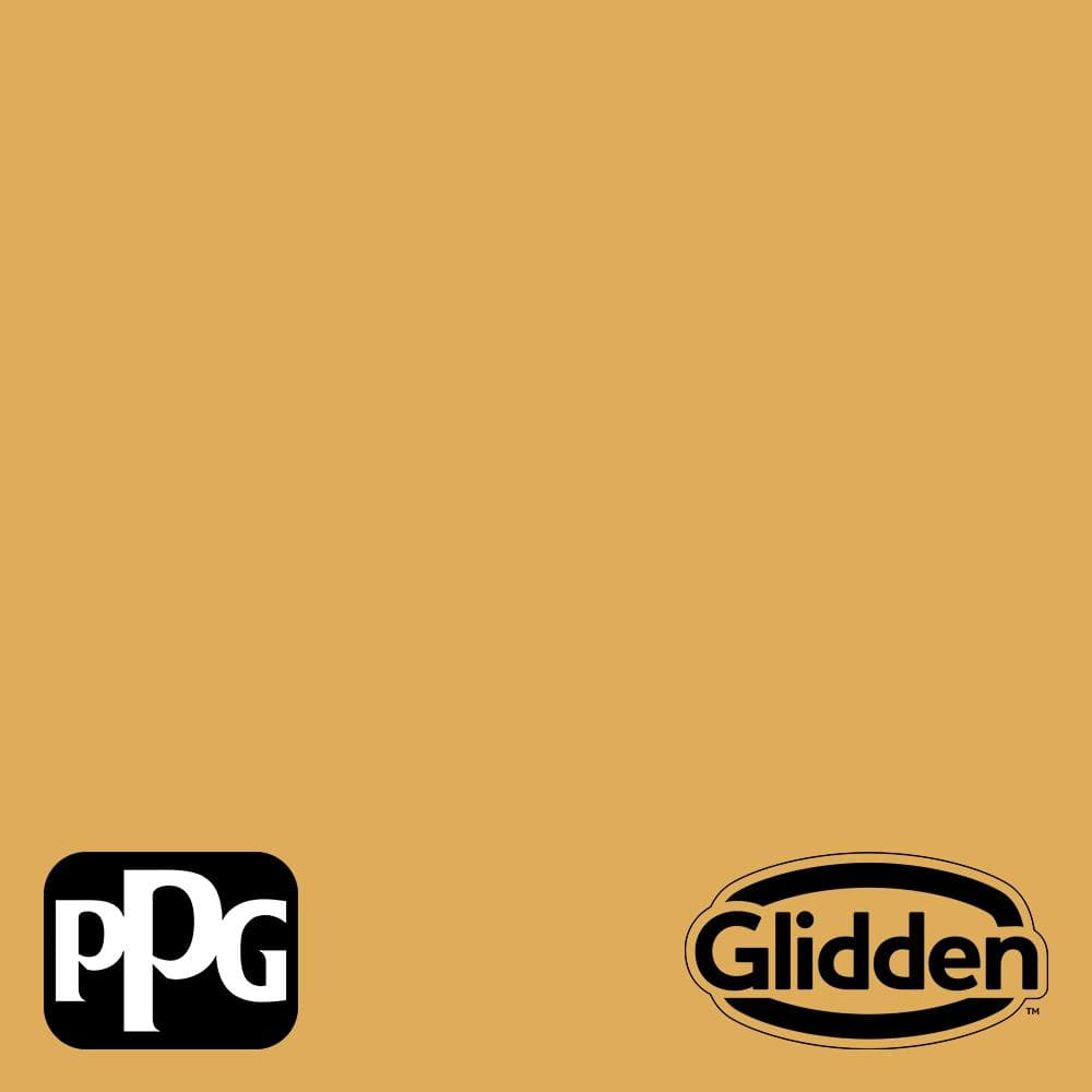 Ppg Diamond 1 Qt Ppg1208 5 Brown Mustard Satin Interior Paint With Primer Ppg1208 5d 04sa The Home Depot