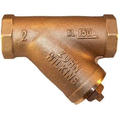 1 in. Brass FPT Strainer