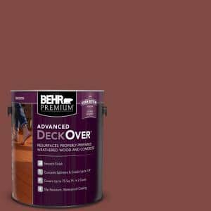 1 gal. #SC-112 Barn Red Smooth Solid Color Exterior Wood and Concrete Coating