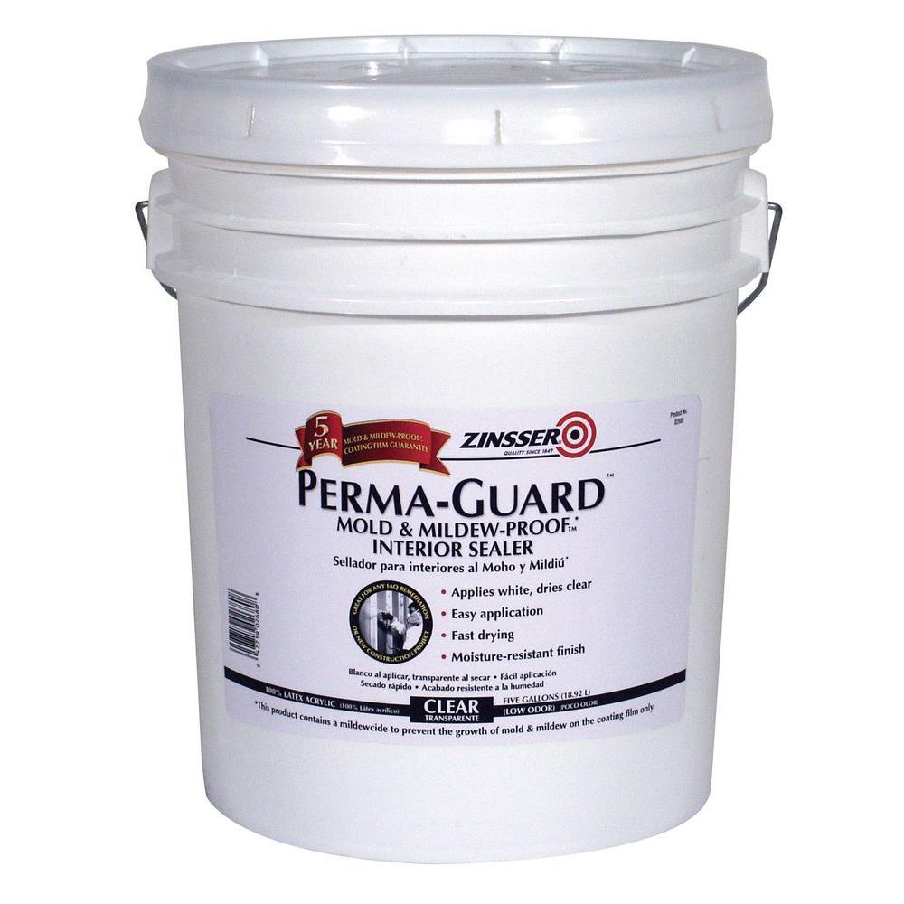 Perma-Guard 5 gal. Clear Acrylic Mold & Mildew-Proof Interior Sealer