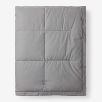 LaCrosse LoftAIRE Down Alternative Silver Cotton Full/Queen Blanket