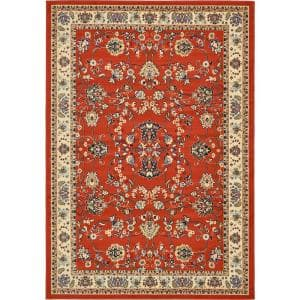 Sialk Hill Washington Terracotta 7' 0 x 10' 0 Area Rug