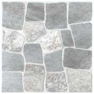 Laja Gris 17-3/4 in. x 17-3/4 in. Ceramic Floor and Wall Tile (22.5 sq. ft./Case)