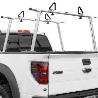 40 lbs. Aluminum Adjustable Pickup Truck Ladder Racks (Maximum 1,000 lbs. Weight Capacity)
