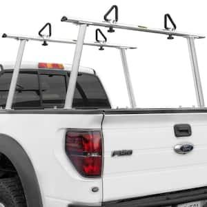 1,000 lbs. Capacity Adjustable Aluminum Pickup Truck Ladder Racks