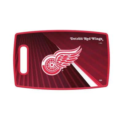 Detroit Red Wings Large Plastic Cutting Board