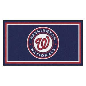 MLB - Washington Nationals 3 ft. x 5 ft. Ultra Plush Area Rug