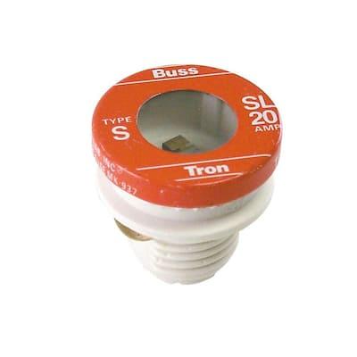 SL Style 20 Amp Plug Fuse (4-Pack)