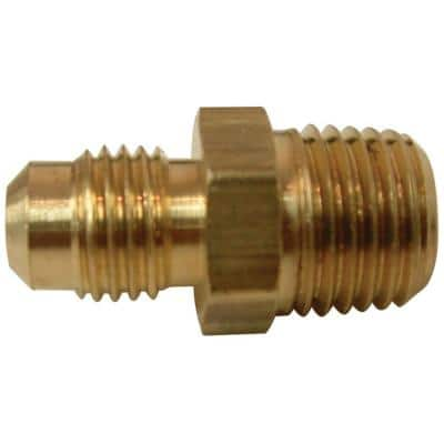 3/8 in. Flare x 1/2 in. MIP Brass Adapter Fitting