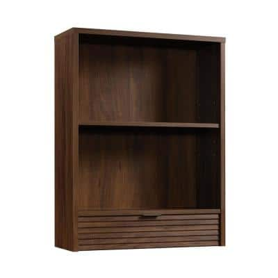 Englewood 36.260 in.H Spiced Mahogany Library Hutch with Drawer