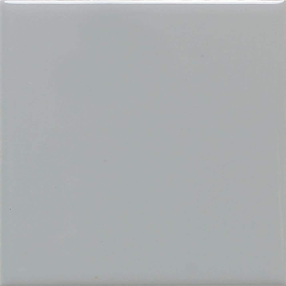 Daltile Matte Desert Gray 4 1 4 In X 4 1 4 In Ceramic Wall Tile 12 5 Sq Ft Case X714441p1 The Home Depot