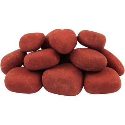 21.6 cu. ft. 1 in. to 3 in. 1620 lbs. India Rose Pebbles