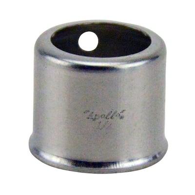 1/2 in. Stainless Steel PEX Crimp Sleeve (10-Pack)