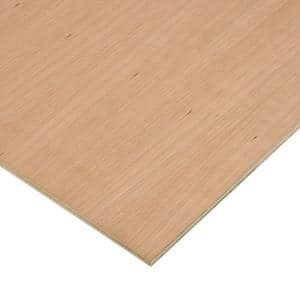 1/2 in. x 2 ft. x 4 ft. PureBond Cherry Plywood Project Panel (Free Custom Cut Available)