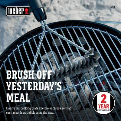 12 in. Three-Sided Grill Brush