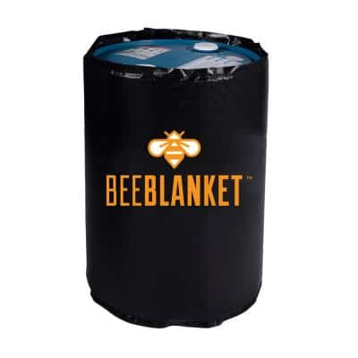 Insulated 55 Gallon Drum & Barrel Honey Heating Bee Blanket, Fixed Internal Thermostat, Fixed Temp 100F
