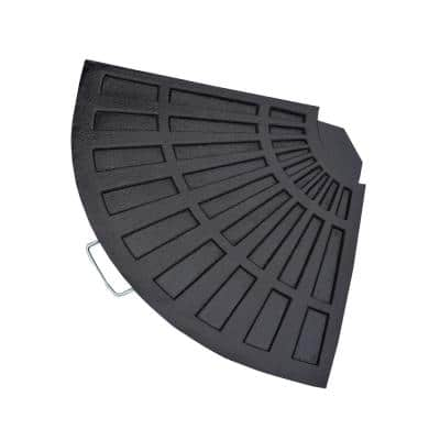 Cast Polyresin Rust-Free Fan Shape Weight for Umbrella Stand