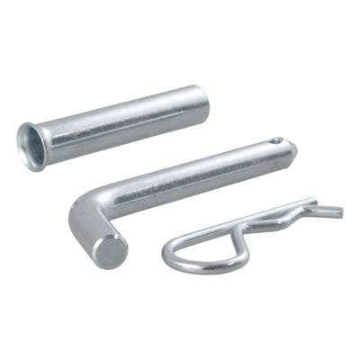 """1/2"""" Hitch Pin with 5/8"""" Adapter (1-1/4"""" or 2"""" Receiver, Zinc, Packaged)"""