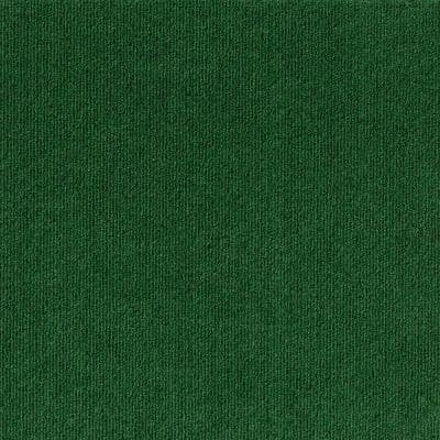 Elevations - Color Leaf Green 6 ft. Indoor/Outdoor Ribbed Texture Carpet