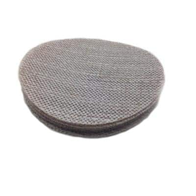 9 in. Trinet Mesh 240 Grit Hook and Loop Stearated Aluminum Oxide Sanding Discs (10 per Pack)