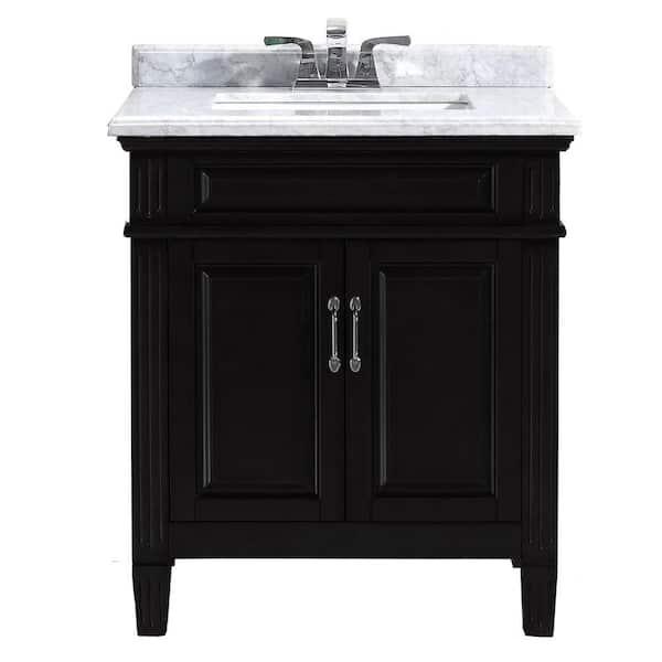 Home Decorators Collection Blaine 30 In, 30 Bathroom Vanity With Top