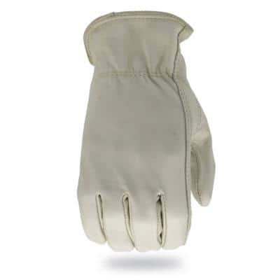 TM Large Leather Driver Work Gloves