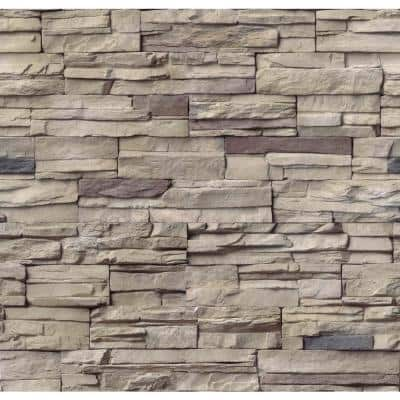 Terrado Bayside Sand Manufactured Stacked Stone (6 sq. ft. / case)
