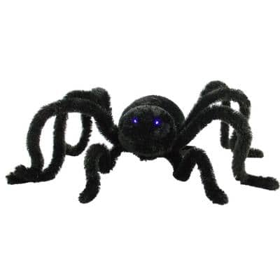 11 in. Touch Activated Animatronic Crawler Spider