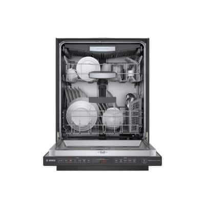 800 Series 24 in. Black Stainless Top Control Tall Tub Dishwasher with Stainless Steel Tub, CrystalDry, 42dBA