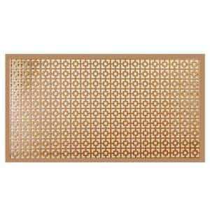 12 in. x 24 in. Chain Link Copper Aluminum Sheet