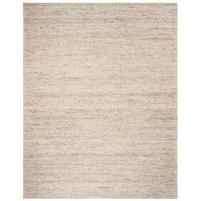 Marbella Light Gray 8 ft. x 10 ft. Solid Area Rug