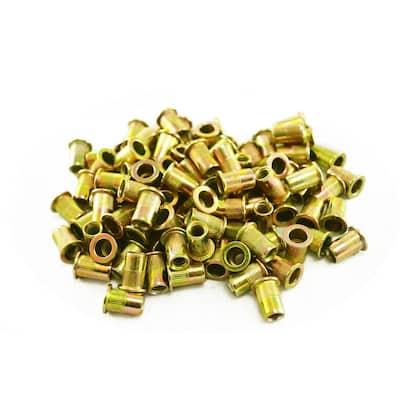 6 mm Steel Rivet Nuts (100-Pack)
