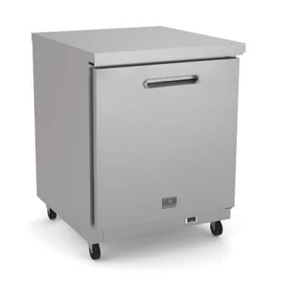 6 Cu. FT. Undercounter upright Freezer