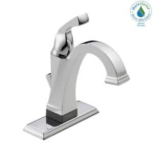 Dryden Single Hole Single-Handle Bathroom Faucet with Touch2O.xt Technology in Chrome