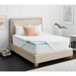 3 in. Chill Gel Memory Foam Mattress Topper with Cover