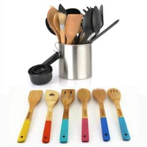 Assorted Plastic and Wooden Utensil (Set of 29)