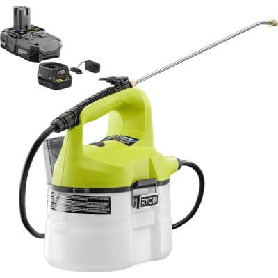 ONE+ 18-Volt Lithium-Ion Cordless Chemical Sprayer 1-Gal. - 1.3 Ah Battery and Charger Included