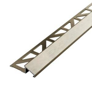 Dural Durastep Dp 7 16 In Silver Profile Dstae Dp 110 The Home Depot