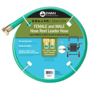 5/8 in. Dia x 6 ft. Leader Water Hose