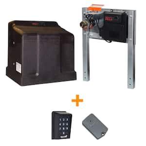 Heavy Duty Single Slide Electric Gate Opener Bonus Package