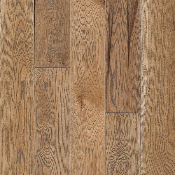 Subdued Gray Solid Hardwood Flooring, White Oak Laminate Flooring Home Depot