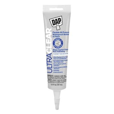 Ultra Clear 5 oz. All Purpose Waterproof Sealant