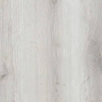 ISOCORE 7.1 in. W x 47.6 in. L Silver Silk Click-Lock Luxury Vinyl Plank Flooring (18.73 sq. ft./case)