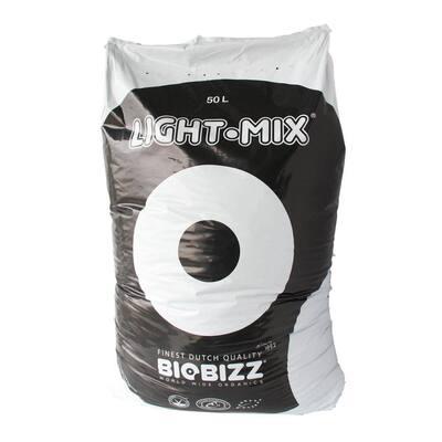 BioBizz Light-Mix 50 l Organic Farming Plant Growing Mix Substrate Bag