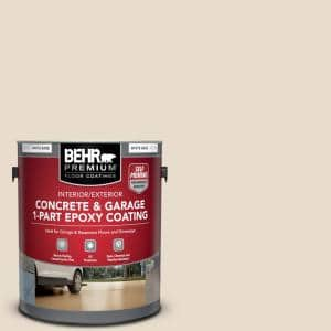 1 gal. #OR-W11 White Mocha Self-Priming 1-Part Epoxy Satin Interior/Exterior Concrete and Garage Floor Paint