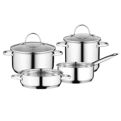 Essentials Comfort 6-Piece Stainless Steel Cookware Set