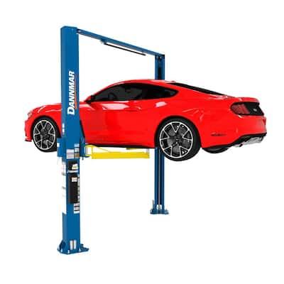 2-Post Car Lift Asymmetric Clear Floor 10000 lb. Capacity