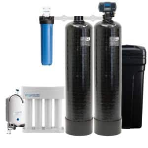Signature Elite Whole House Water Treatment System with 64,000 Grain Water Softener