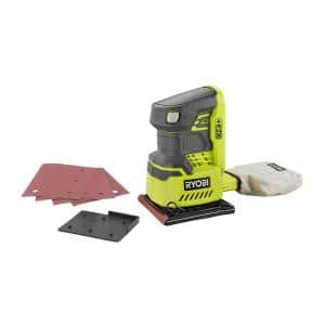 ONE+ 18V Cordless 1/4 Sheet Sander (Tool-Only) with Dust Bag